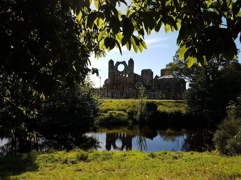 Elgin Cathedral royalty-vrije stock foto's