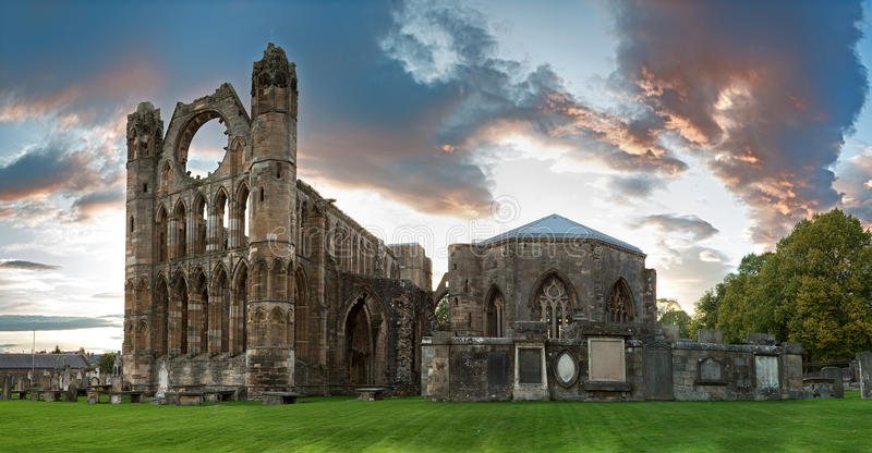 Elgin Cathedral royalty free stock photography