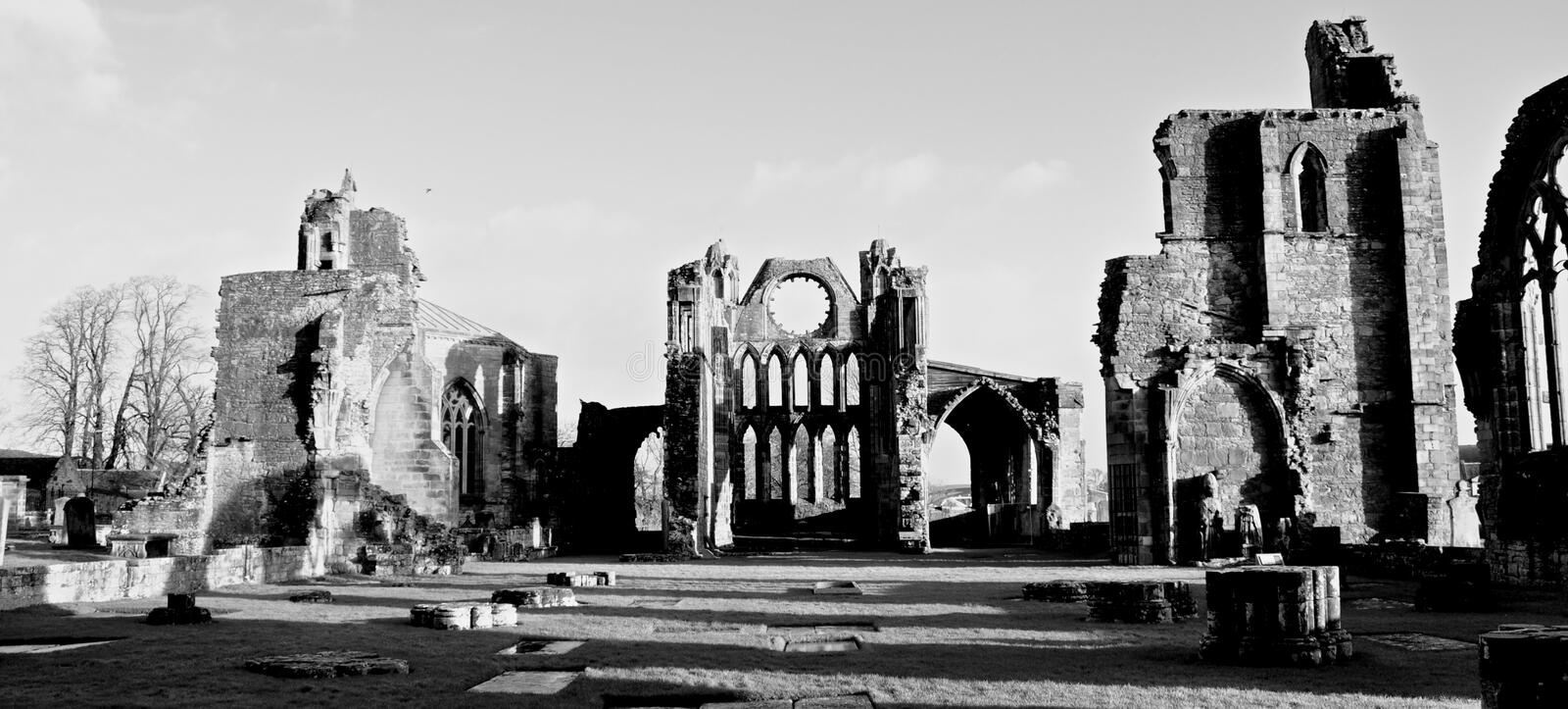 Elgin Cathedral Scotland fotografia de stock