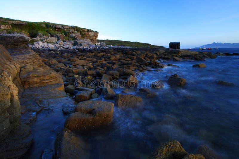 Elgol coastline, isle of skye, scotland