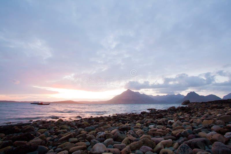 Download Elgol Isle Av Den Skye Höglandet Skottland Arkivfoto - Bild av tomt, stenar: 27278972