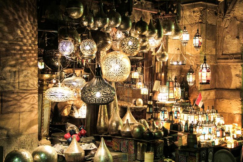 ElHussin Il Cairo, Egitto fotografie stock libere da diritti