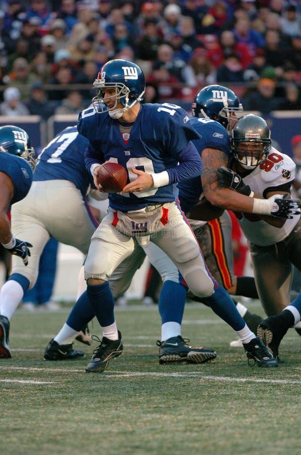 Eli Manning New York Giants foto de stock royalty free