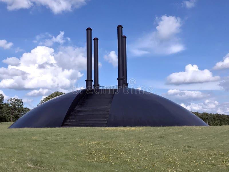 Elia sculptur στο birk-Herning, Δανία στοκ εικόνα με δικαίωμα ελεύθερης χρήσης