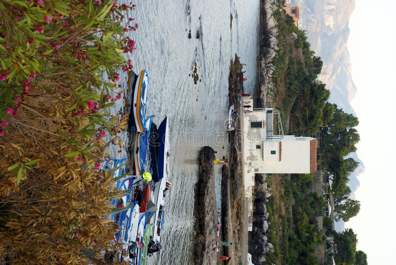 elia zatoka sant Sicily zdjęcie royalty free