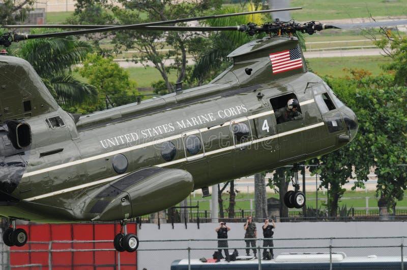 Elicotteri dell'aeronautica americana fotografia stock