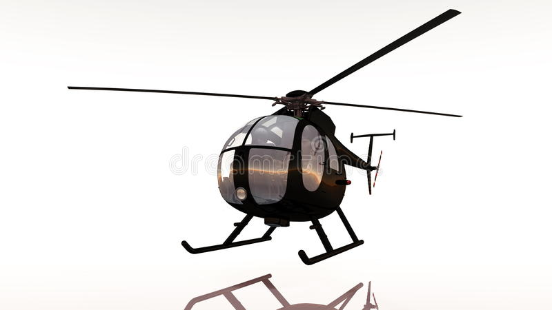 Elicottero illustrazione vettoriale