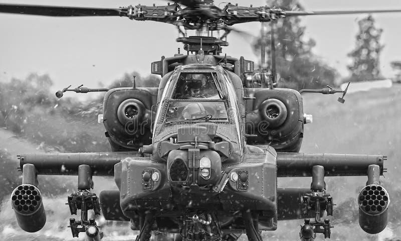 Elicottero di Apache immagini stock