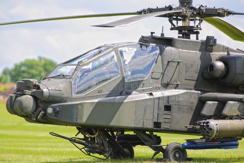Elicottero di Apache fotografie stock libere da diritti