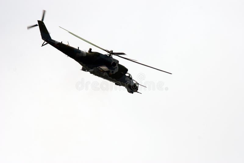 Elicottero di Apache fotografie stock
