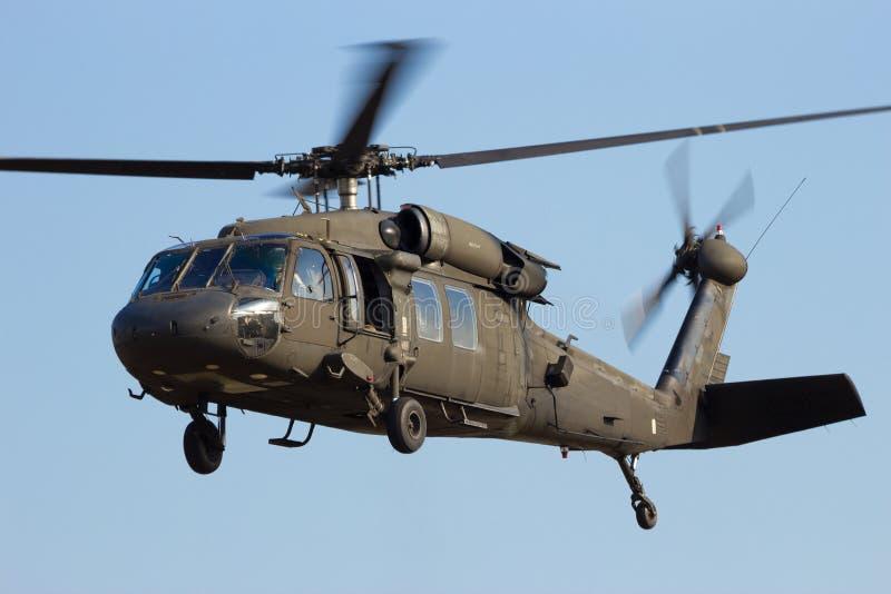 Elicottero di Blackhawk fotografia stock libera da diritti