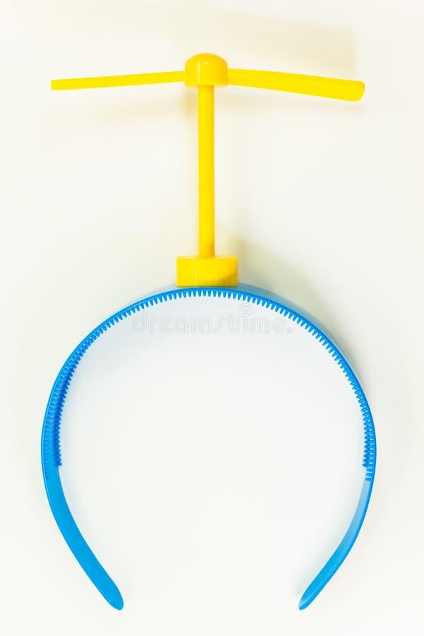 Elicottero di Doraemon immagine stock
