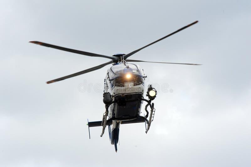 Elicottero di GIGN fotografia stock libera da diritti