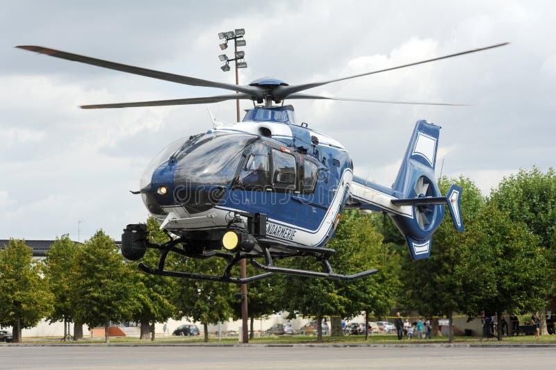 Elicottero di GIGN fotografie stock