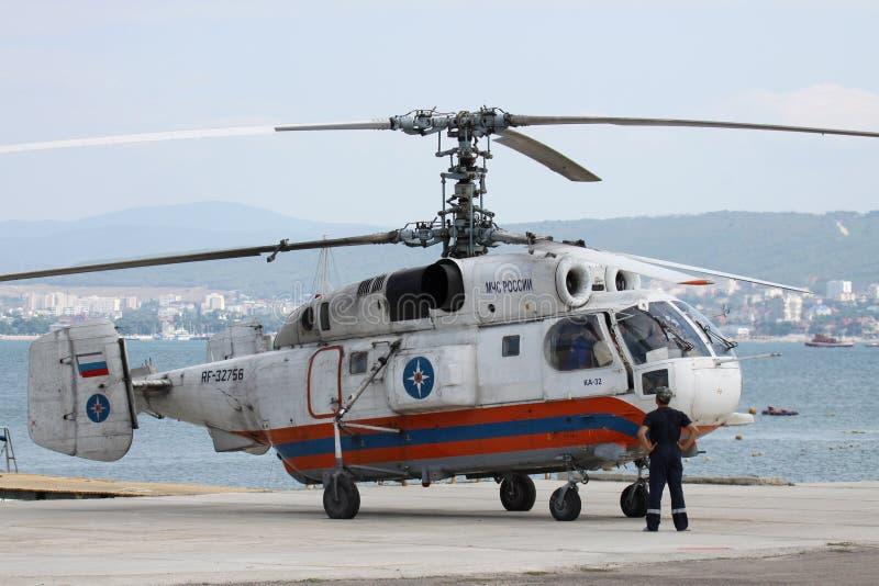 Elicottero Kamov : Elicottero di kamov ka immagine stock editoriale