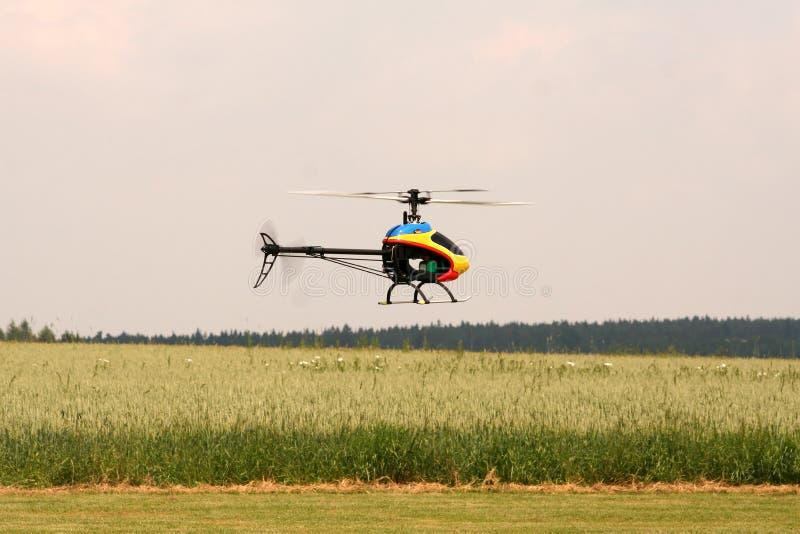 Elicottero di modello immagine stock