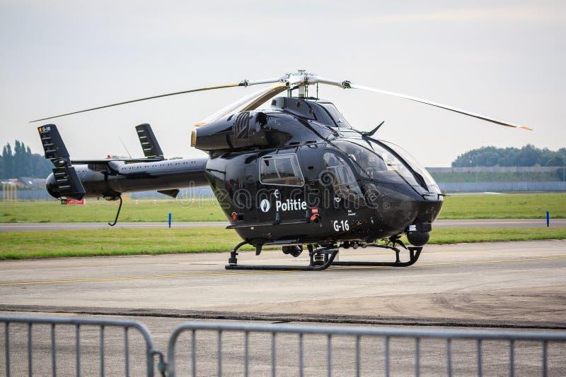 Elicottero Polizia : Elicottero di polizia nero immagine editoriale