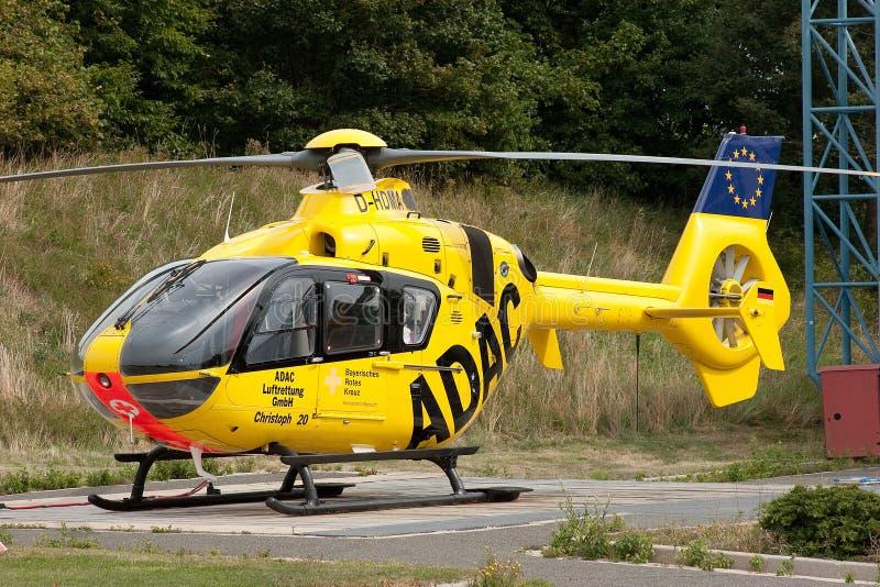 Elicottero In Tedesco : Elicottero di salvataggio aria adac immagine