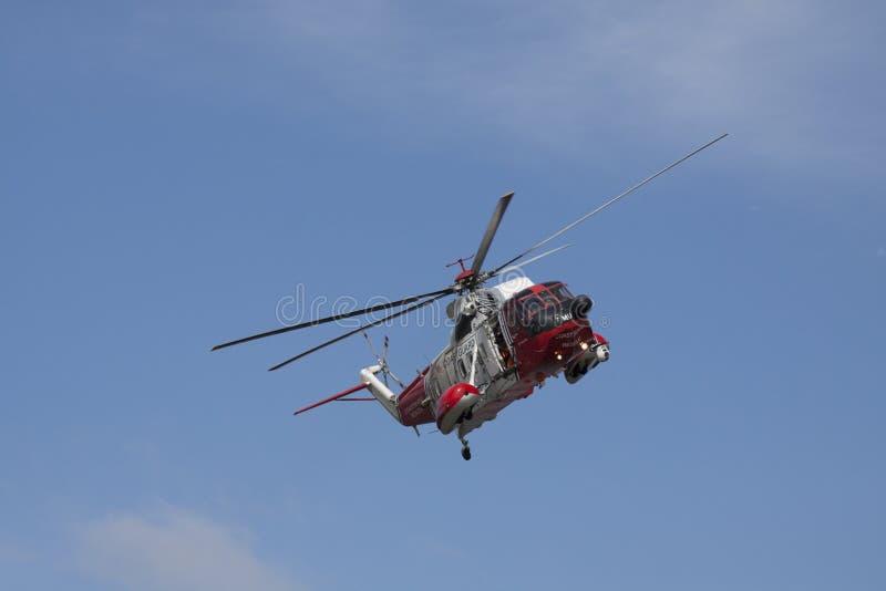 Elicottero durante il volo immagini stock libere da diritti