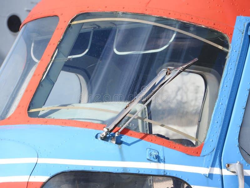 Elicottero, eliche, installazioni ed unità militari per la fucilazione, primo piano fotografia stock libera da diritti