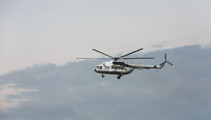 Elicottero militare ucraino Mi-8 immagini stock