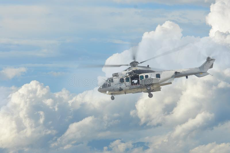 Elicottero tailandese dell'aeronautica immagine stock libera da diritti