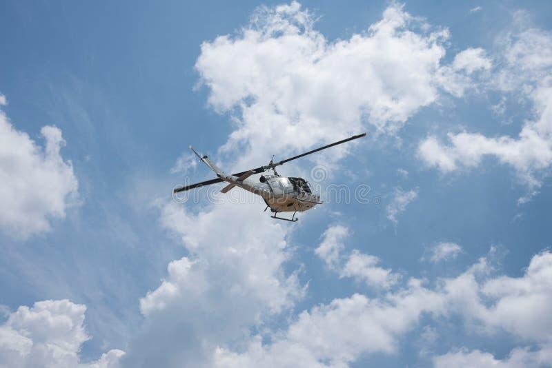 Elicottero tailandese dell'aeronautica fotografia stock libera da diritti