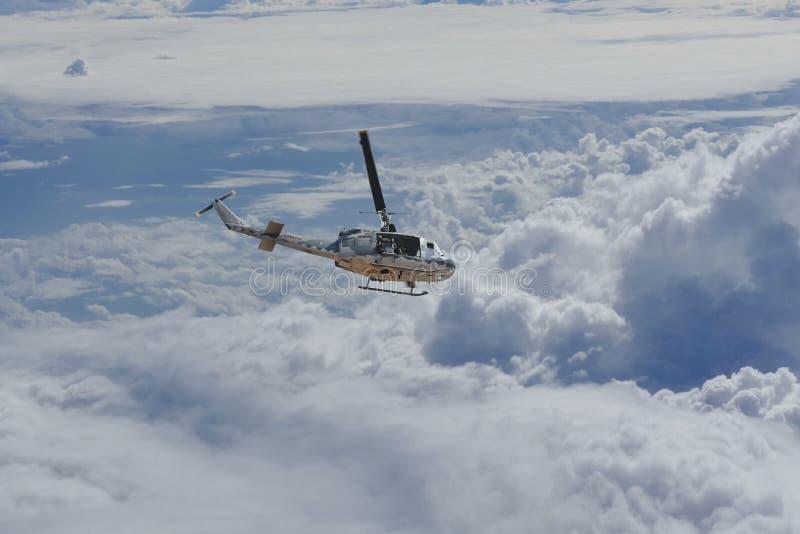 Elicottero tailandese dell'aeronautica immagini stock