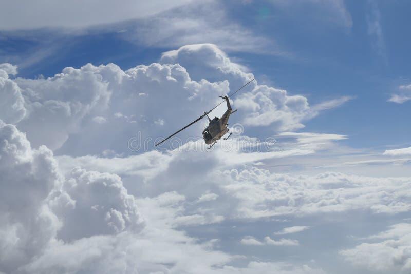 Elicottero tailandese dell'aeronautica immagine stock