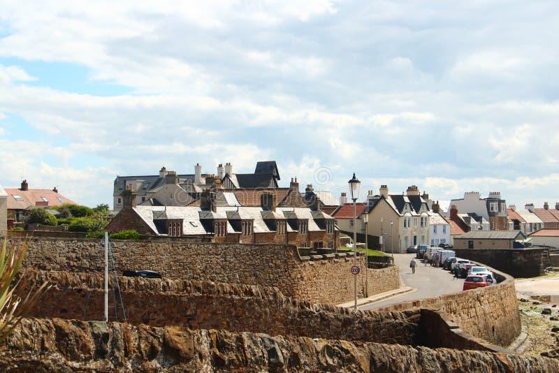 Elie, Шотландия стоковое фото