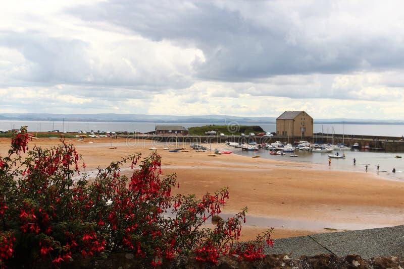 Elie, Шотландия стоковое изображение