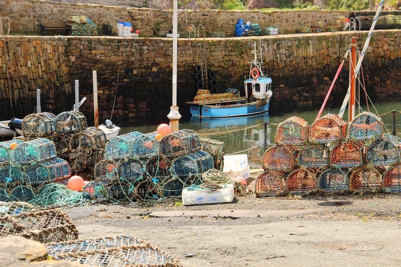 Elie, Шотландия стоковые фотографии rf