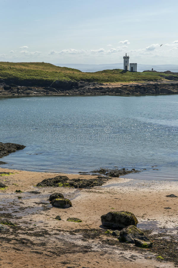 Elie Lighthouse. Shot of Elie Lighthouse in Fife Scotland stock photography