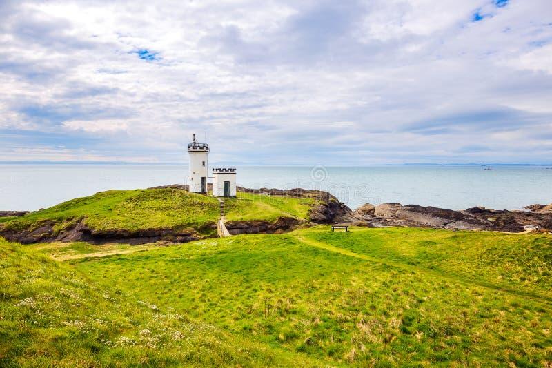 Elie Ness Lighthouse foto de stock