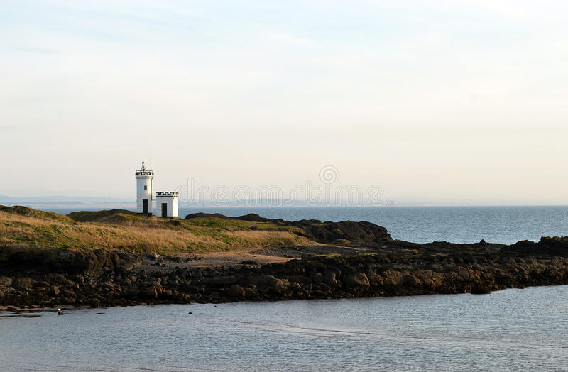 Elie Ness Lighthouse, Elie, Fife, Schotland stock fotografie