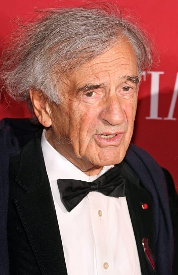 Elie Wiesel royalty-vrije stock foto