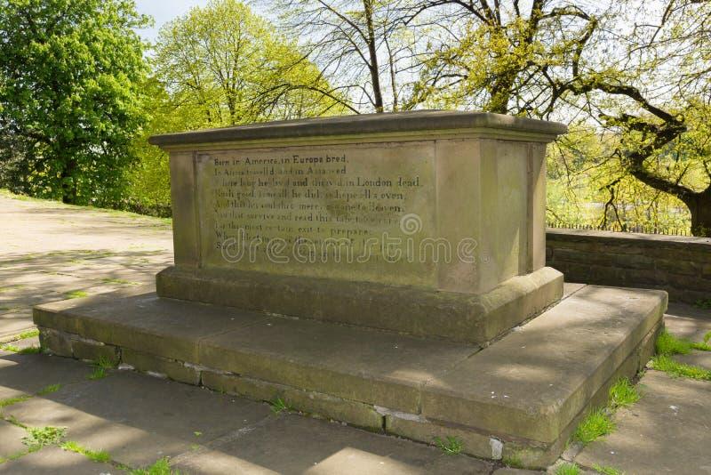 Elihu Yale Grave fotos de archivo