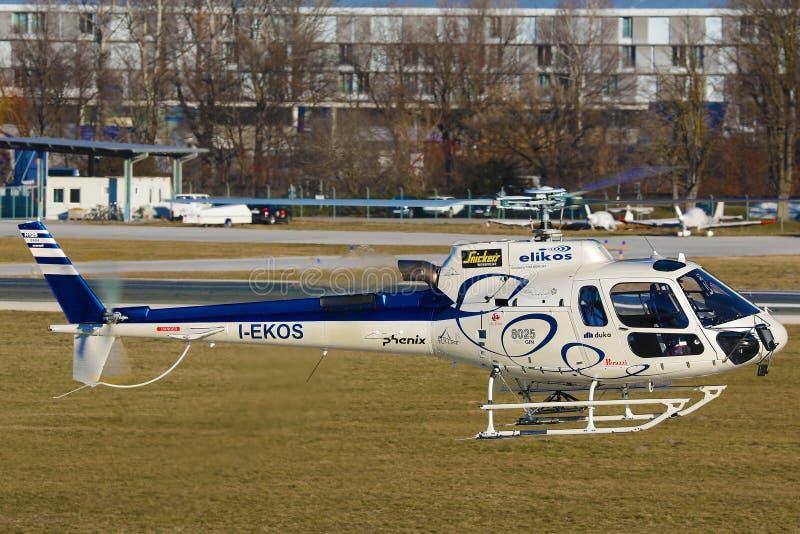 Elikos, I-EKOS, hélicoptères Airbus H125 image stock
