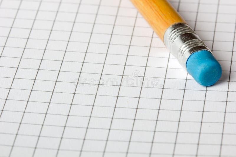 Eliminador de lápis fotos de stock royalty free