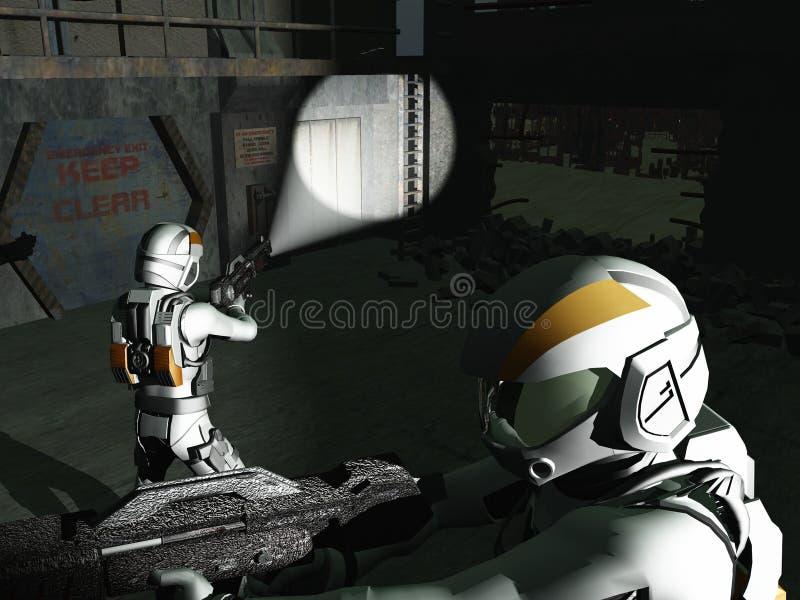 Download Eliminate all resistance stock illustration. Image of soldier - 12878161
