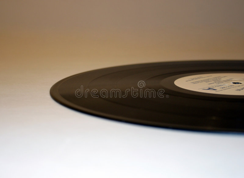 Elipse do vinil fotografia de stock royalty free