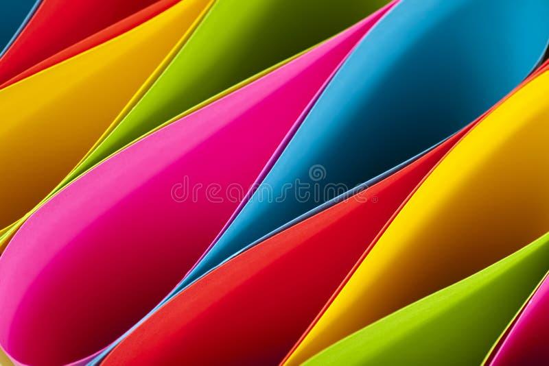 Elipses coloridas imagen de archivo libre de regalías