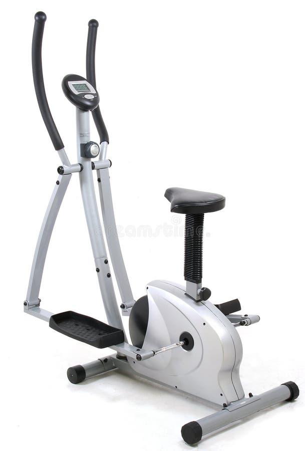 Eliptical gym machine stock image