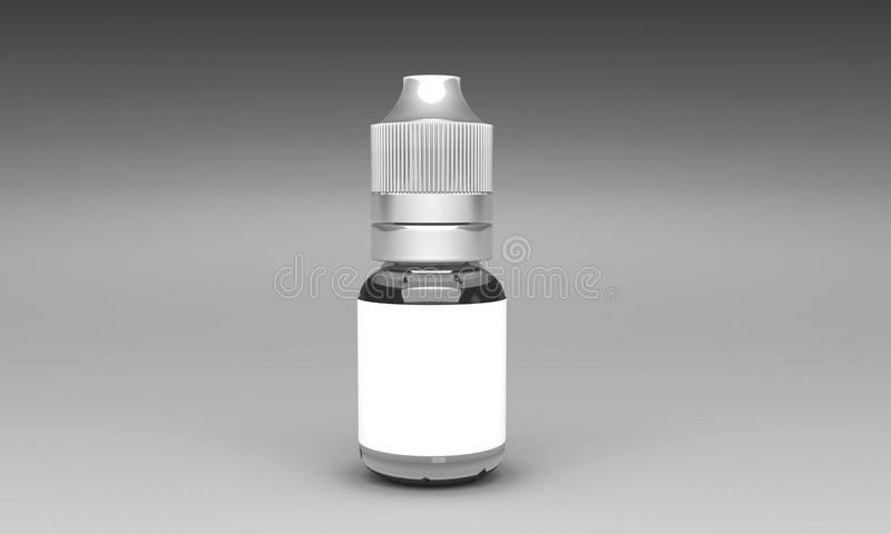 Eliquid bottle stock photos
