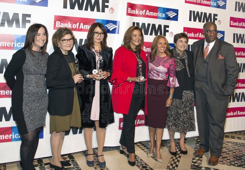 Elisa Lees Munoz, Deborah Amos, Sanyia Toiken, Michele Norris, Suzanne Malveaux, et Bryan Monroe photo stock