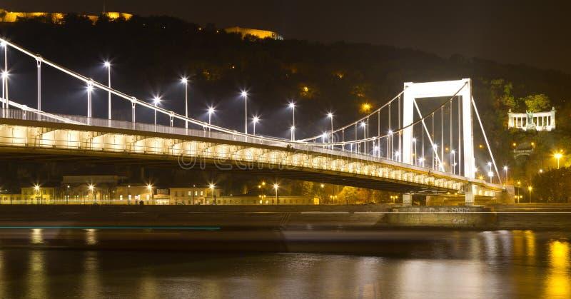 Elisabeth Bridge. From Budapest, Hungary stock images