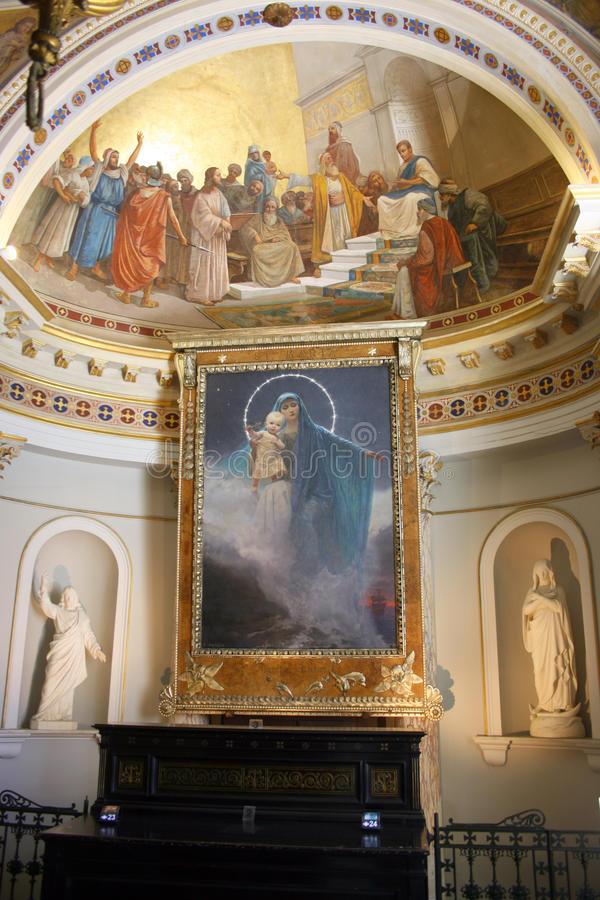 Elisabeth chapel royalty free stock photos