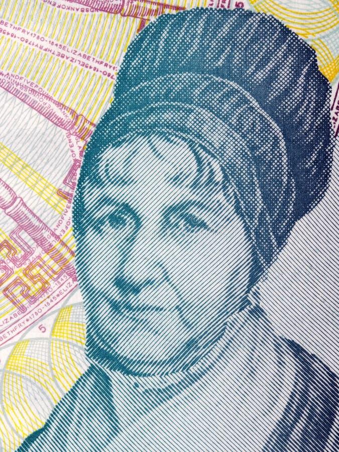 Elisabeth Fry stående arkivfoton