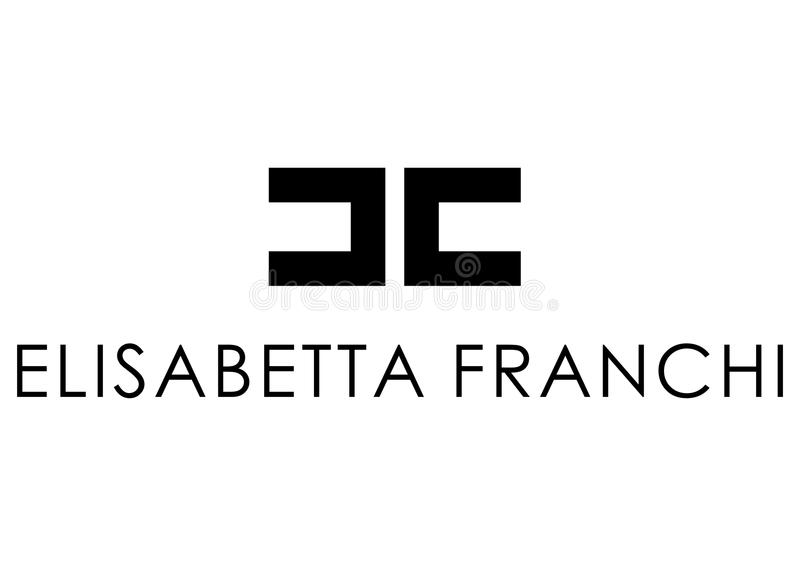 Elisabetta Franchi Logo illustration libre de droits