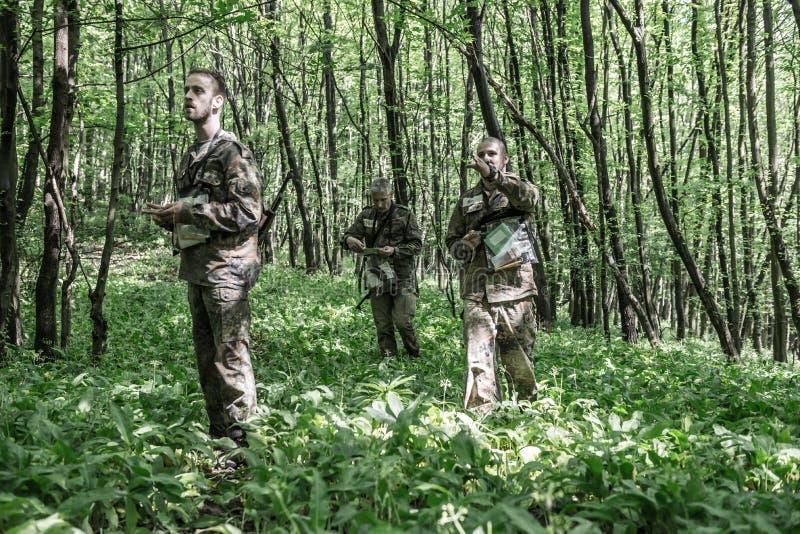 Elita wyzwanie - szkolenie wojskowe, rywalizacja cywile zdjęcie stock